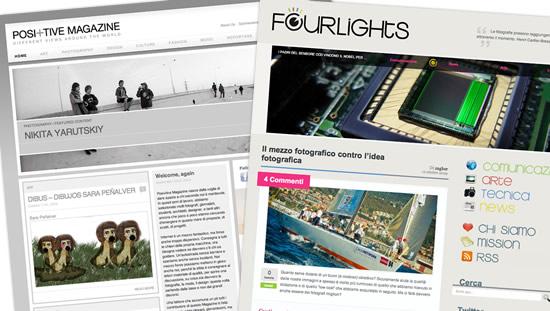 positive magazine + fourlights