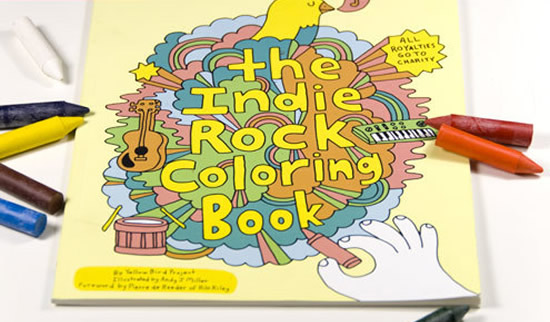 the indie rock coloring book 1