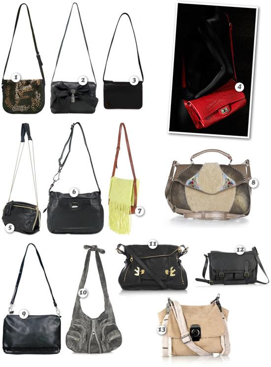 Micro-tendenze AW09-10 #6: borsa tracolla
