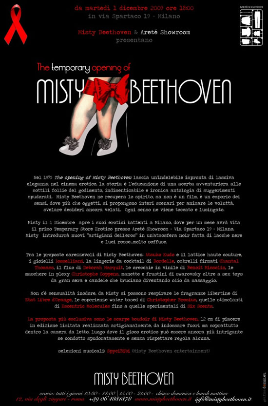 The Temporary Opening of Misty Beethoven