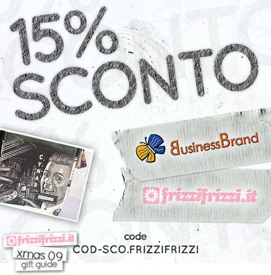 BusinessBrand: 15% di sconto per i lettori di Frizzifrizzi!