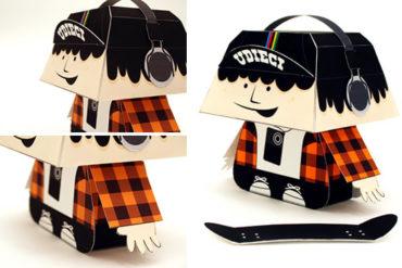 u10 paper toy