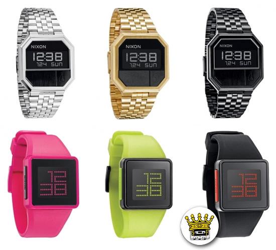 nixon orologi digitali