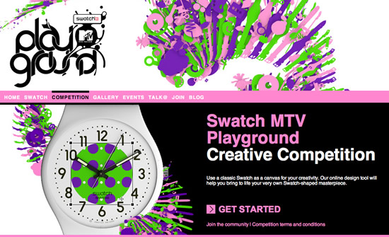 mtv playground swatch