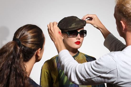 Borsalino Eyewear Backstage 33