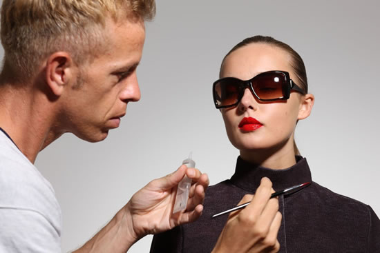 Borsalino Eyewear Backstage 37