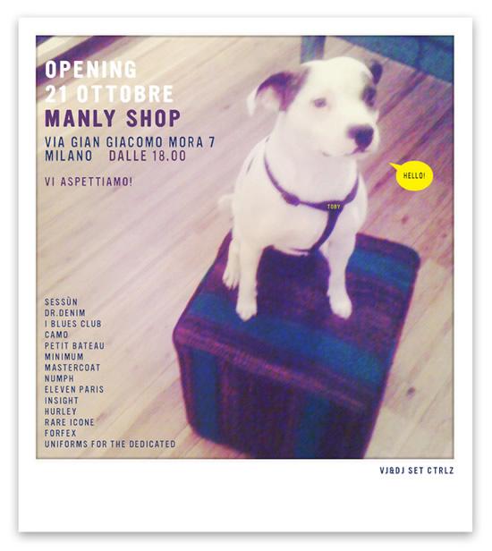 manly shop flyer