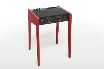 3 La boite concept hi fi ld120 rouge