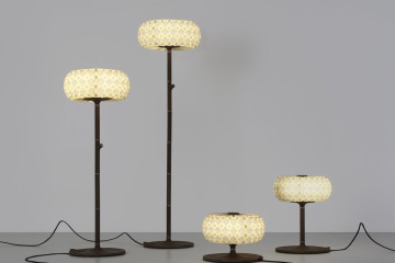 96 Molecules Floor Table Lamps design by Ofir Zucker and Albi Serfaty