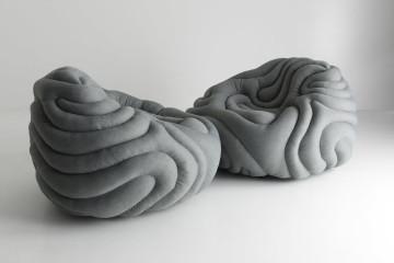 Gladis Lounge Chair design by Ayala Serfaty