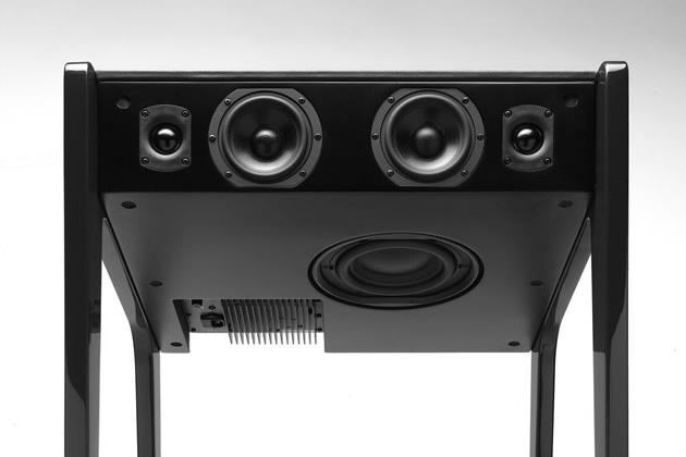 La boite concept LD120 hifi 7 haut parleurs