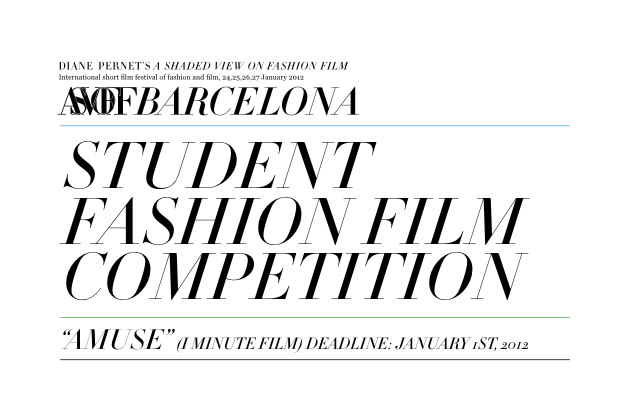 ASVOFF Barcelona | Student Fashion Film Competition ...
