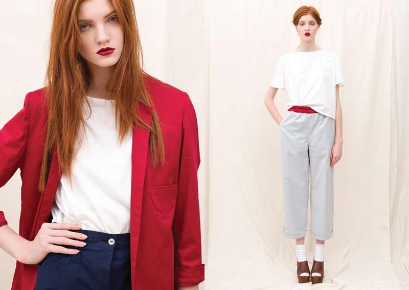 Licia florio ss2012 frizzifrizzi for Stile minimal vestiti