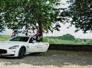 Pensare alla vita, a 200 km/h sopra ad una Maserati