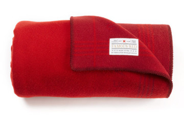 best made famous red blanket