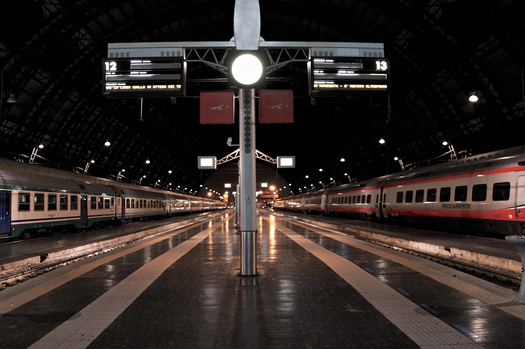 A una certa tutti i treni vanno a Chiasso