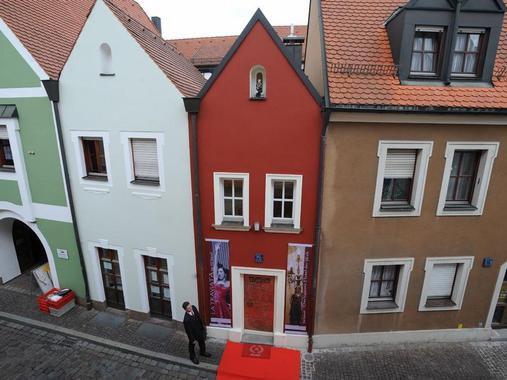 Amberg, Germania | L'hotel più piccolo del mondo | foto Happy Giraffe