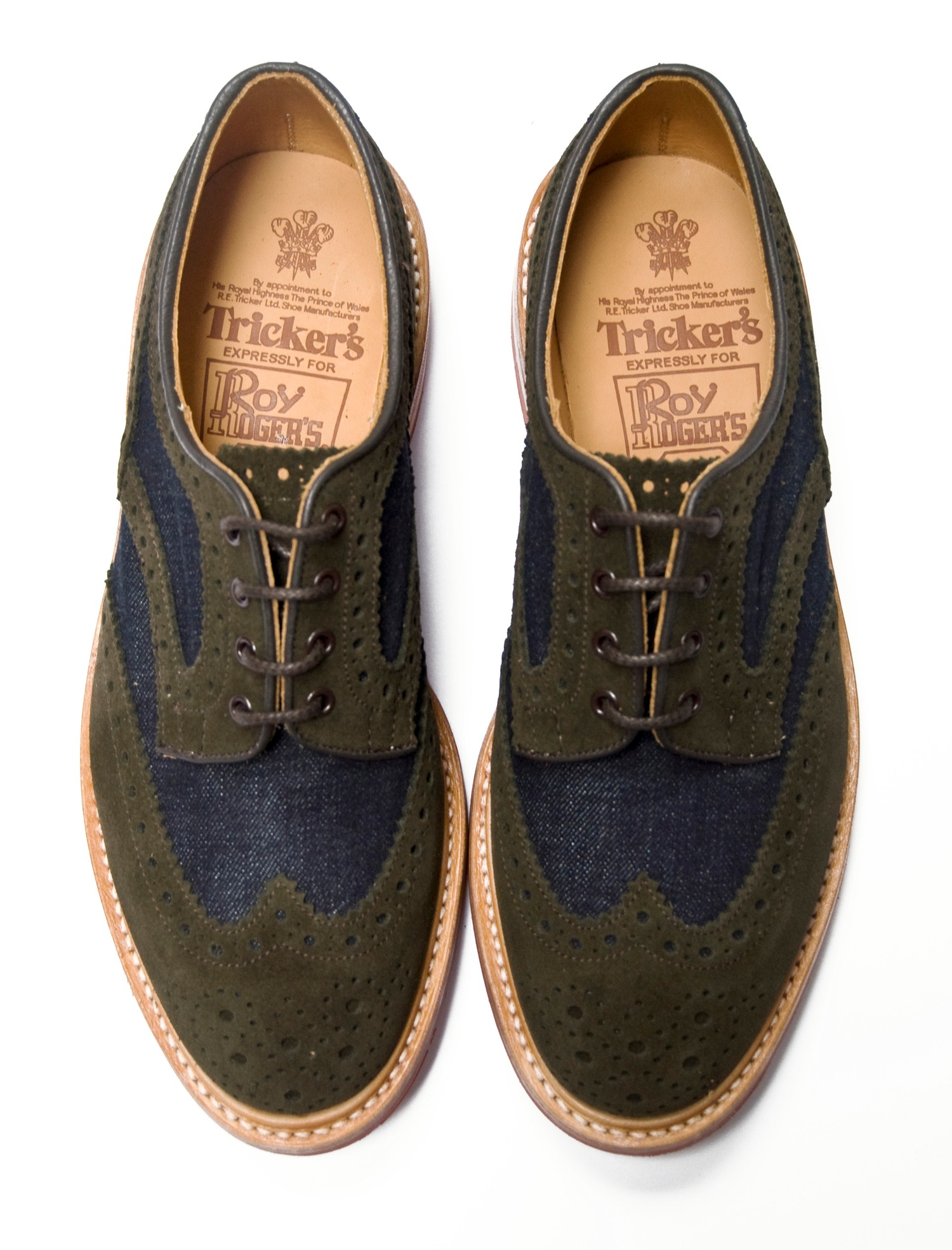 classic fit 255e5 25a52 Tricker's x Roy Roger's - Frizzifrizzi