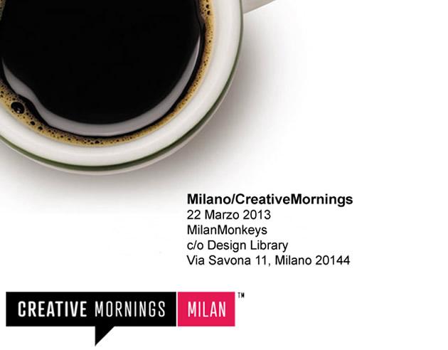 creative mornings 22marzo 1