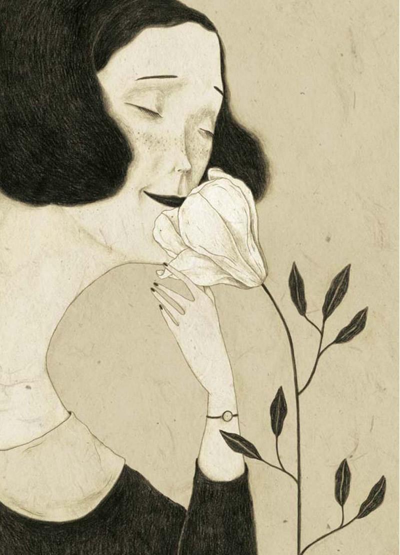 Illustrazione di Monica Barengo da Polline, Copyright Kite, 2013