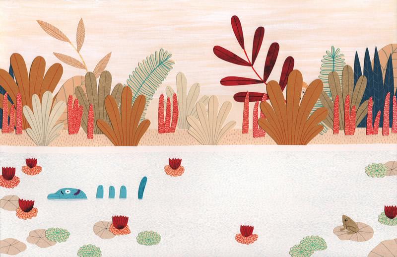 Illustrazione di Leire Salaberria da Io, Qinuq, Copyright Kite, 2013