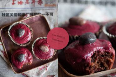 cupcakes barbabietola cioccolato