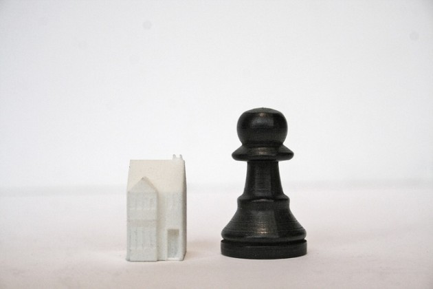 skyline chess pedone