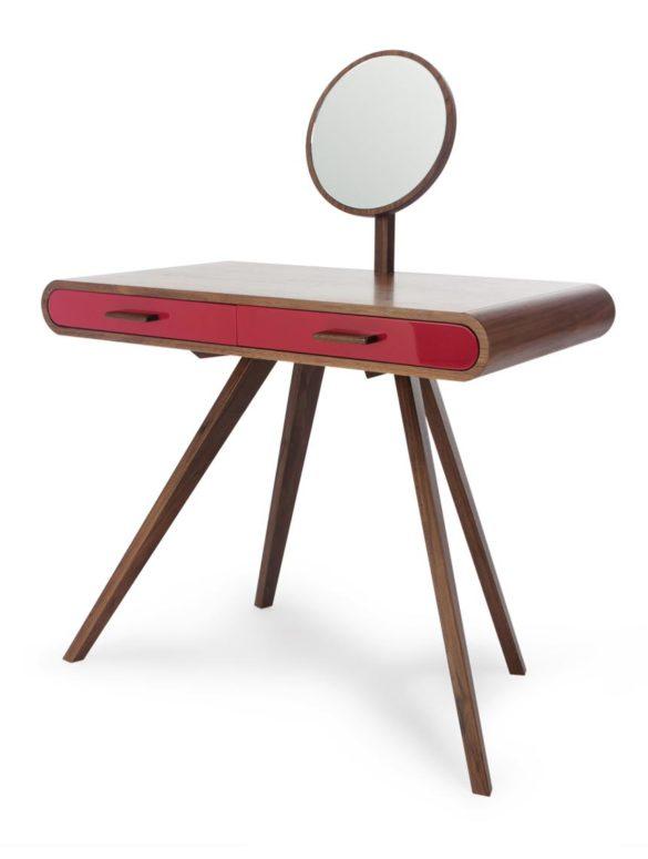 Fonteyn dressing table red walnut 01low