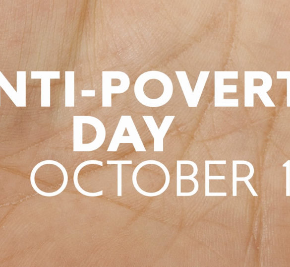 anti poverty day