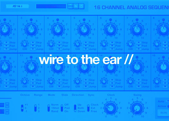 wire to the ear