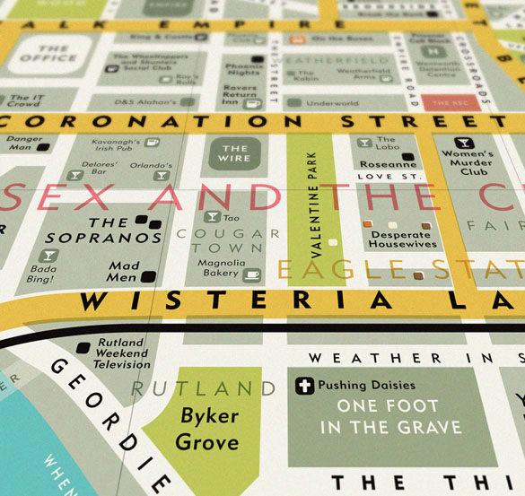 Dorothy 0052c T.V. Map