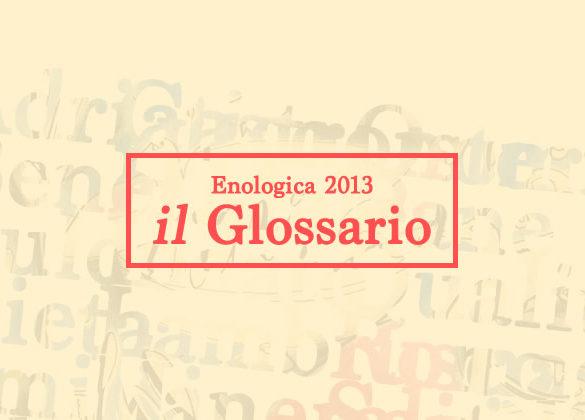 enologica glossario