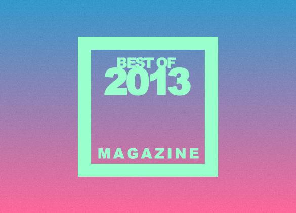 bestof2013 magazine