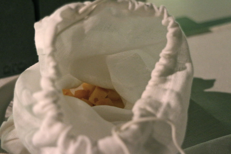 la pasta nel sacchetto