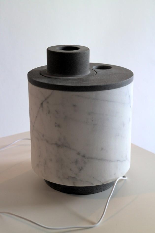 Cimmy, umidificatore elettrico ad ultrasuoni in marmo