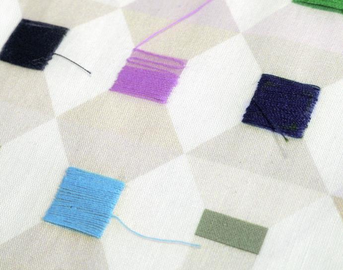 Cotton Reel, di Richard Rhys (versione tessile)