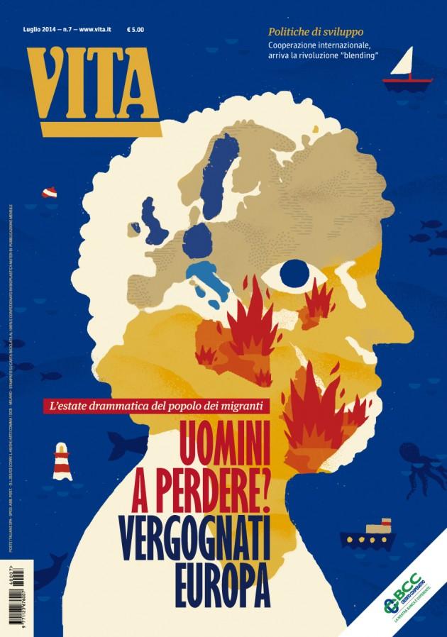 cover di luglio 2014, realizzata da Sarah Mazzetti | courtesy Matteo Riva