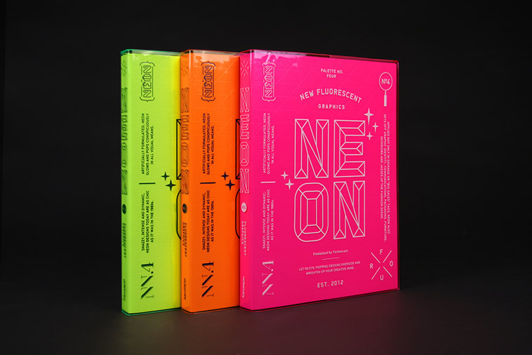Palette 04: Neon | © Viction:ary