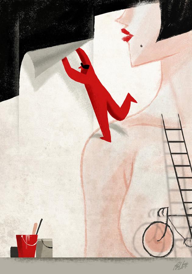 La solitudine del cartellonista (© Riccardo Guasco)