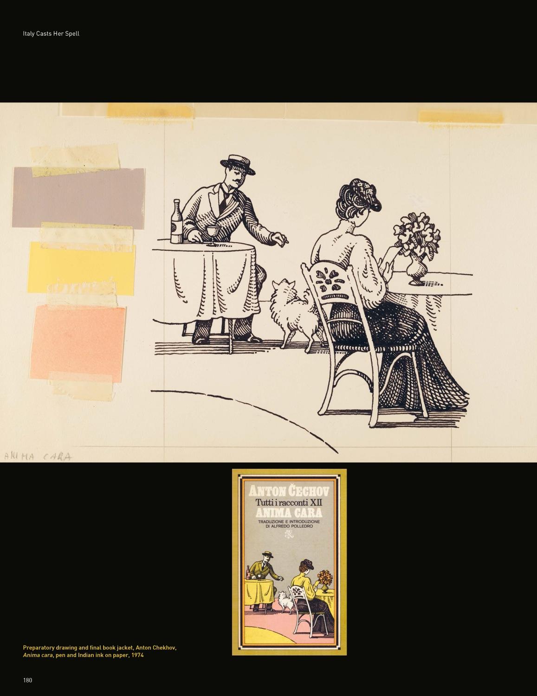 Preparatory drawing Anton Chekhov-Anima Cara
