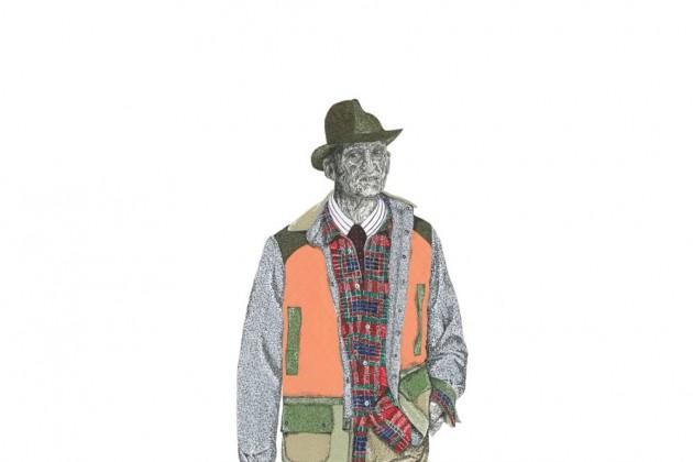 Freddy Krueger wearing Junya Watanabe Fall 2014 Menswear Collection