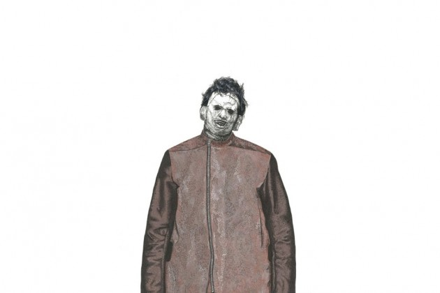 Leatherface wearing Rick Owens Fall 2014 Menswear Collection