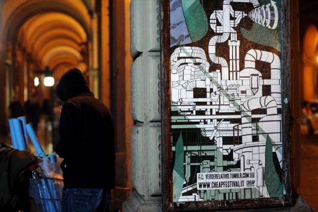 Verde Relativo, Paper Resistance per Cheap Festival 2014. Foto di Luca Sgamellotti