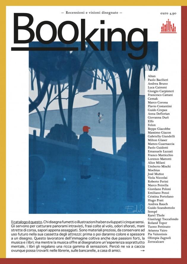 la copertina del libro: illustrazione di Emiliano Ponzi e grafica di Martina Merlini