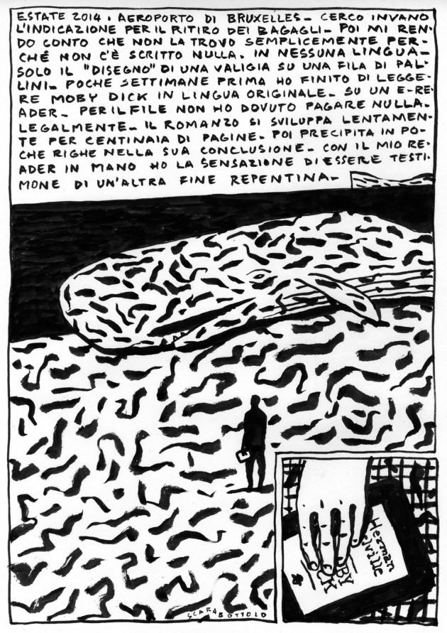 """""""Moby Dick ovvero La Balena"""", di Herman Melville, raccontato da Guido Scarabottolo"""