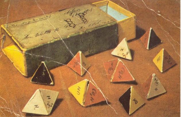 1875 – Van't Hoff's Molecular Paper Models