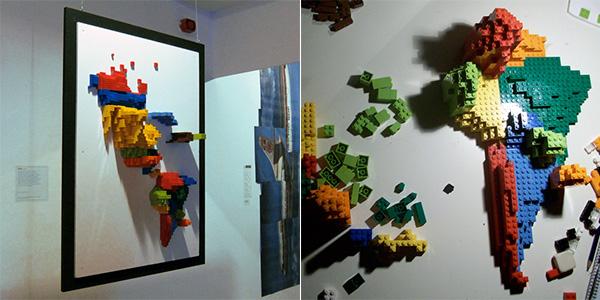 2011 – LEGO Cartogram: Prism Maps