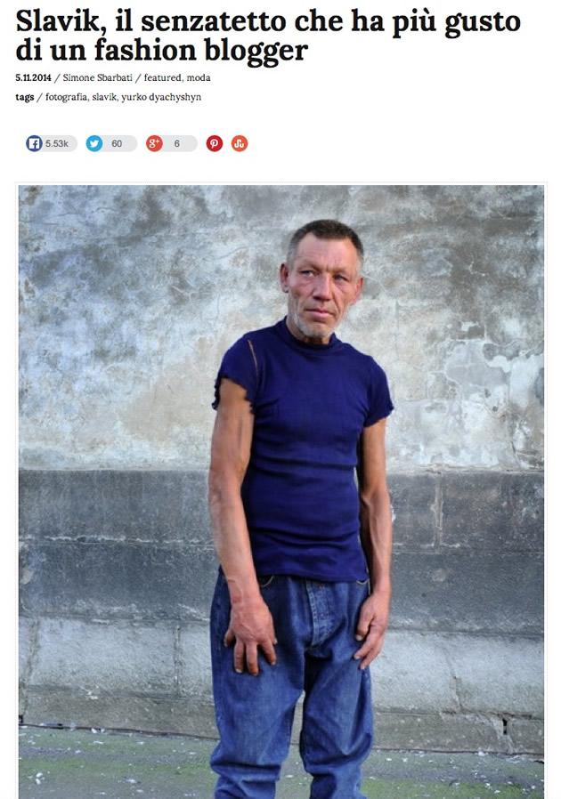 l'articolo su Slavik uscito su Frizzifrizzi il 5 novembre scorso