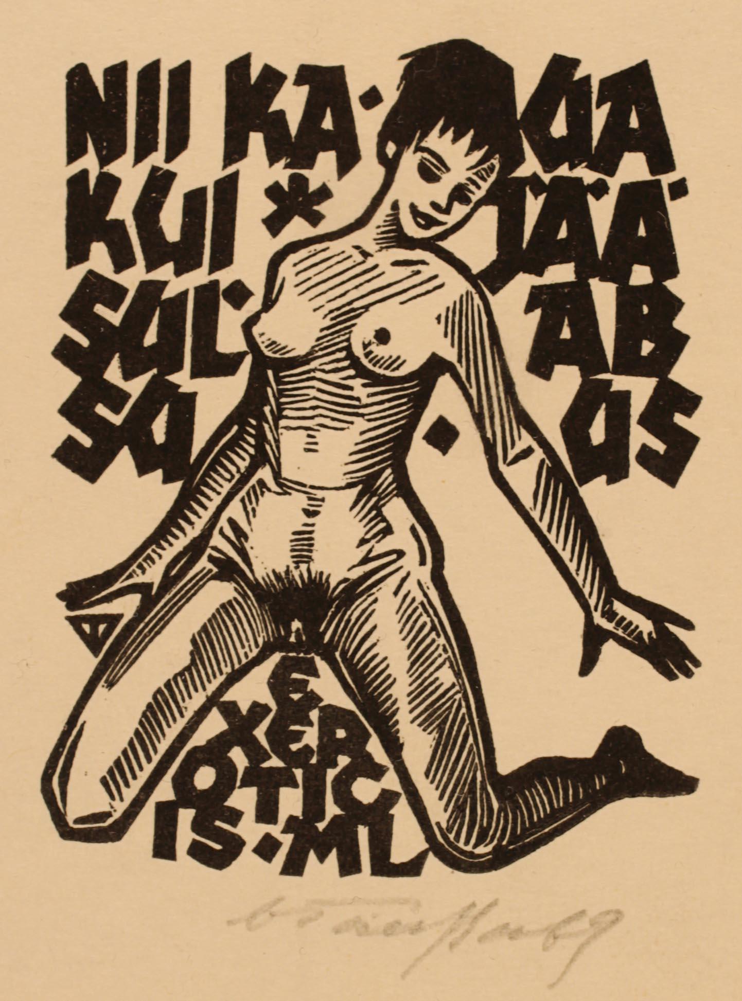 Artista: Väino Tönisson Anno: 1969 Provenienza: Estonia