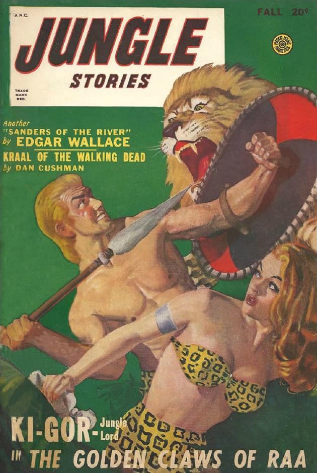 """copertina di """"Jungle Stories"""", autunno 1948"""